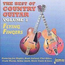 New FLYING FINGERS COUNTRY GUITAR [ATKINS, GARLAND, TRAVIS, BRYANT] CD, 2001 OOP