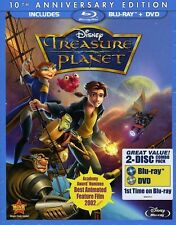 Treasure Planet [10th Annivers (2012, REGION A Blu-ray New) BLU-RAY/WS/10th Anni