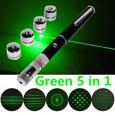 Green 5 In 1 Presenter Powerpoint Laser Pointer Presentation Remote Pen Good