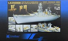 LION ROAR® LS350008 Big Detail Set for Hasegawa® Kit IJN Nagato 1944 in 1:350