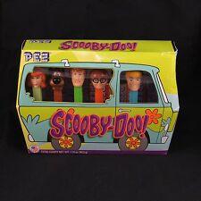 Scooby Doo Pez Gift Set Mystery Machine Shaggy Hanna Barara Cartoons Van