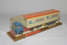 MAJORETTE SERIE 3000 RENAULT CONTAINER TRUCK WITH TRAILER SUPERTRANS MINT BOXED!