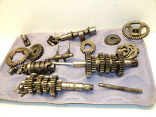 Yamaha XT250 XT 250 #5022 Transmission & Misc. Gears / Shift Drum & Forks