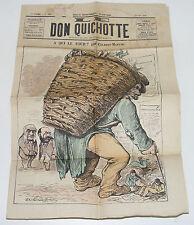 1878 LE DON QUICHOTTE N°206 A QUI LE TOUR / GILBERT-MARTIN / JOURNAL BORDEAUX