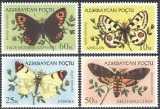 Azerbaijan 1995 Butterflies/Insects/Nature/Conservation/Butterfly 4v set (b1784)