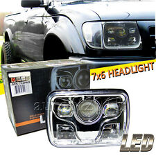 """7x6"""" LED Projector Headlight CREE Led Sealed Beam Replacement DOT Approved"""