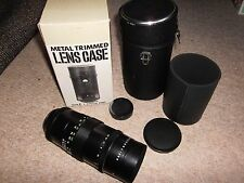 pentacon  4/200 8558923 telephoto lens east german  unused in case