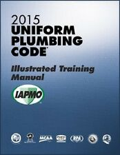 2015 Uniform Plumbing Code Illustrated Training Manual