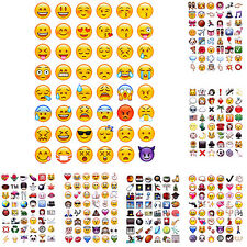 Visage De Sourire Stickers 48 Emoji Stickers Pour Ordinateur Portable Instagram
