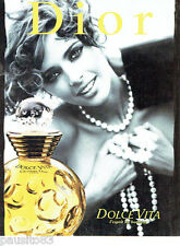 PUBLICITE ADVERTISING 026  1996  Dior  parfum Dolce Vita D. Issermann
