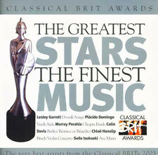 CLASSICAL BRIT AWARDS - CLASSIC FM CD (2003) MURRAY PERAHIA, COLIN DAVIS ETC