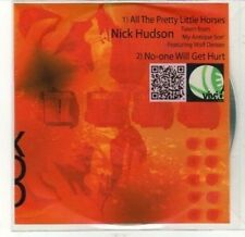 (CA738) Nick Hudson, All The Pretty Little Horses - 2011 DJ CD