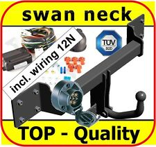 Towbar & Electrics 7pin 12N BMW X5 E70 2005 - onwards / swan neck Tow Bar