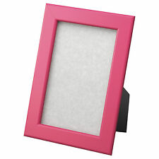 """IKEA Fiskbo  4"""" x 6"""" Wood Picture Frame 5 colors, New"""
