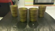 6 x BACARDI CUBA LIBRE METAL CUPS BRAND NEW HOME PUB/BAR/MANCAVE/GIFT/PARTY