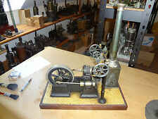 Vieil allemand Georges carette G.C & Co hot air stirling engine heißluftmotor vapeur
