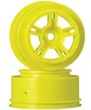 Duratrax DTXC3827 SC Front Wheel Yellow Associated SC10 (2)