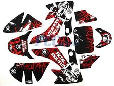 GRAPHICS DECALS STICKERS KIT HONDA CRF50 SDG SSR 107 110 125 PIT BIKE V DE59