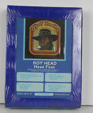 New NOS Roy Head 8 Track Tape Cartridge Head First Country Music Rockabilly 1976