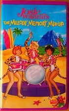 Josie & The PussyCats (VHS, 2001, ClamCase) The Melody Memory Mix-Up 4-Episodes.