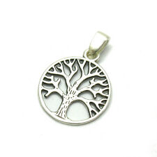 STERLING SILVER PENDANT TREE OF LIFE SOLID 925 PE001123 EMPRESS