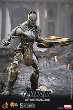 "Hot Toys The Avengers CHITAURI COMMANDER 12"" Action Figure 1/6 Scale MMS227"