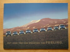 FORD AUTO 1999 UK inchiostri BROCHURE-PUMA COUGAR Explorer Mondeo Escort Focus Fiesta
