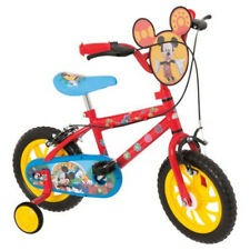 Disney Mickey Mouse 12 inch Kids' Bike with Stabilisers Brand New £85 12""