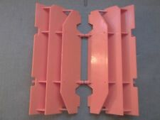 Orange KTM Radiator Guards 125 200 250 300 360 380 400 520 540 620 EXC MXC SX SC
