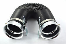 "UNIVERSAL 3"" 75mm FLEXI AIR INTAKE INDUCTION PIPE HOSE fits APEXI K&N HKS RAMAIR"