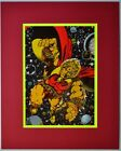 ADAM WARLOCK Pin up Poster 1978 Marvel MATTED & Frame Ready