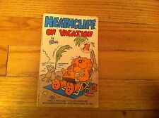 HEATHCLIFF On Vacation Cat 1987 Paperback Comic Strip Collection Geo Gately