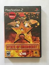 Sony PlayStation 2 State of Emergency Maual Included