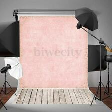 5x7ft Pink Wood Floor Photo Backdrop Photography Background Studio Props