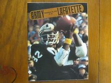 HOMER  SMITH (Died in 2011) Signed 1978 ARMY/Lafayette College  Football Program