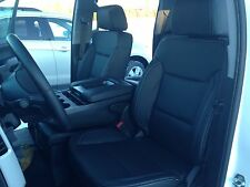 2014 2015 Chevy Silverado Sierra Double Cab Katzkin leather seat cover set