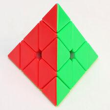 Z 3x3x3 Pyraminx Pyramid Plus Magic Cube Twisty Puzzles Fancy Toys Stickerless