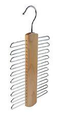 20 chrome bar scraf costume cravate ceinture hold titulaire organisateur étagère en bois cintre 114