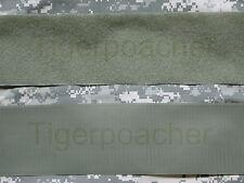 "Foliage Green fastener HOOK & LOOP 4"" x1yard ACU UCP ABU Royal Thai Navy"