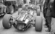 PADDOCK PHOTOGRAPH MONACO GRAND PRIX 1967 F1 BRM ENGINE MECHANICS ATMOSPHER F1