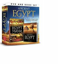 ANCIENT EGYPT BOOK AND DVD GIFT SET - EGYPT MANIA DVD & LITTLE BOOK OF EGYPT