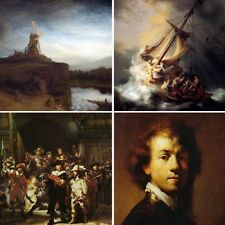 Art Masters REMBRANDT COLLECTION COASTERS Set of Four Absorbent CoasterStone