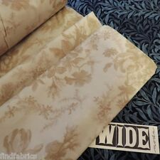 """MODA 108"""" Wide Quilting Backing Cold Spell Frost Floral Cream Per ½ METRE"""