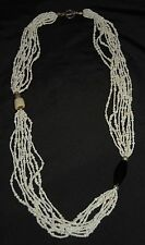 SILPADA - N1573 - Bamboo Coral Seed Bead Black Pen Shell Accent Necklace - RET