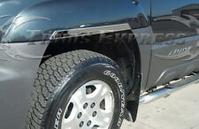 2001-2006 Chevy Avalanche w/Cladding 4Pc Chrome Fender Well Trim 1.5""