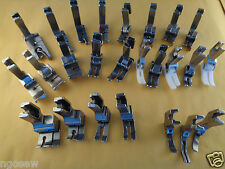 CONSEW 230 BROTHER HIGH SHANK INDUSTRIAL SEWING MACHINE PRESSER FOOT 25 PCS SET