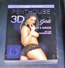 PENTHOUSE GIRLS 3D LUST & FANTASIE  BLU RAY 3D + 2D VERSION NEU & OVP