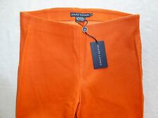 NWT$1,298 Ralph Lauren Lamb Leather Skinny Pants Size: 12 Stretch 29 x 28 Polo