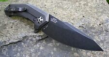 Zero Tolerance ZR 0095BW Schwarz blackwashed Voll Titan S35VN Flipper Kugellager