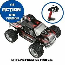 RC Auto rayline funrace 01c15 - 2,4 GHz - 1:18 - 50 KM/H Nuovo!